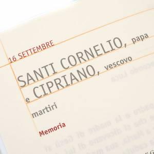 Lectionnaire pour célébration des saints ITA s2