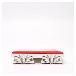 Leggii da tavolo: Leggio da mensa cuscinetto ottone cervi alla fonte