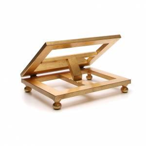 Leggio da tavolo foglia oro 35x40 cm s3