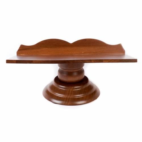 Leggio legno fisso e girevole s4