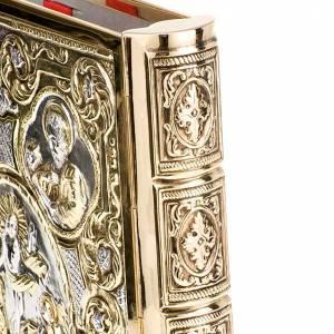Deckel für Lektionar: Lektionaireinband Evangelium vergoldete Messing