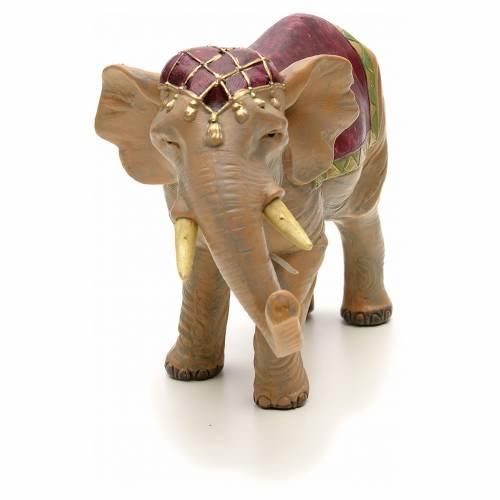 Éléphant crèche Fontanini 12 cm s4