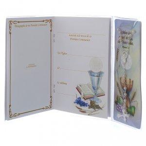 Libretto Prima Comunione FRANCESE con rosario bianco s3