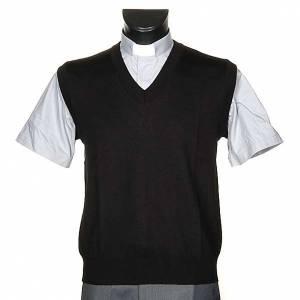 Cardigan jackets: Light V-neck waistcoat