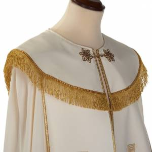 Liturgical cope with gold crosses embroideries s3