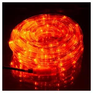 Luce natalizia tubo led rosso programmabile 10 mt esterno s2