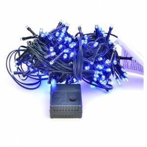 Luces de Navidad: Luces de Navidad, 180 LED azules, interior exterior