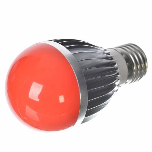Lumière à led 5W dimmable rouge crèche s2