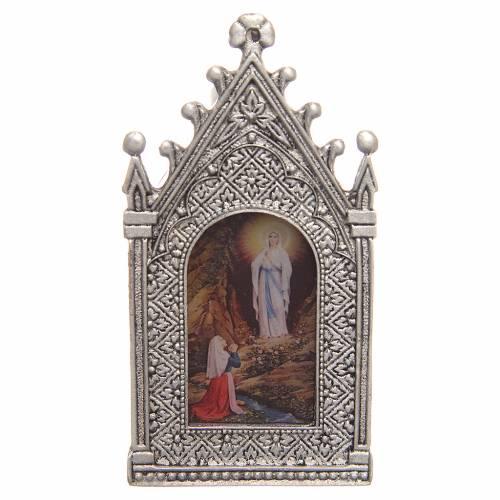 Lumino votivo elettrico Madonna di Lourdes s2