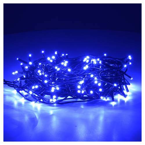 Luz navidad color azul 180 miniled para internos s2