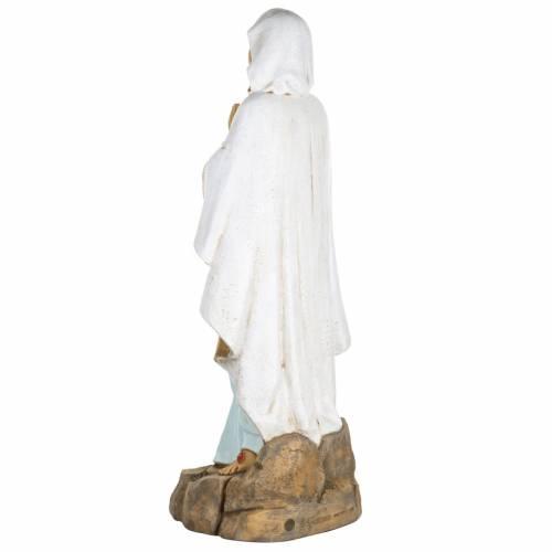 Madonna di Lourdes 100 cm resina Fontanini s6