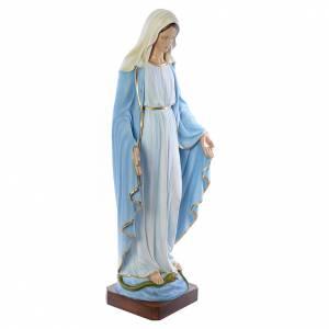 Madonna Immacolata 130 cm marmo sintetico dipinto s4
