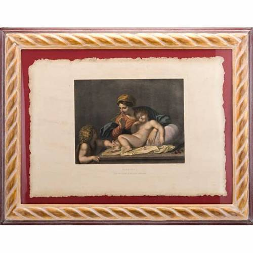 Madonna of the silence, Florentine print s1