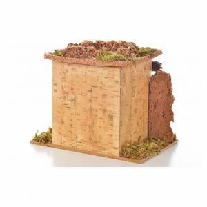 Magasin fruits en miniature crèche 15x10 cm s5