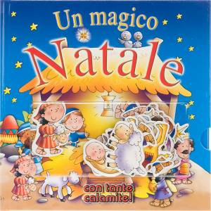 Libri per bambini e ragazzi: Magico Natale con tante calamite!