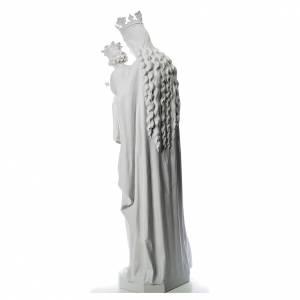 Maria Auxiliatrice 180 cm fibre de verre blanche s3
