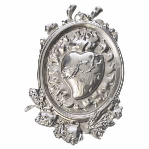 Medaglioni per confraternite: Medaglione per confraternita Sacro Cuore ottone