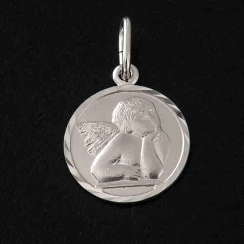Médaille argent 925 ange 1.5 cm s2