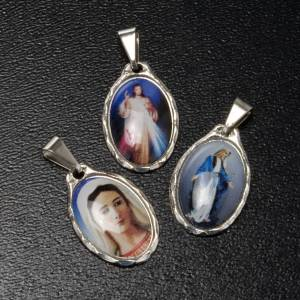 Médaille Miséricorde, Vierge Paix, Grâces s2