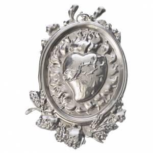 Medaliony dla konfraterni: Medalion dla konfraterni Najświętszego Serca mosiądz