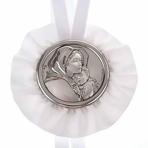 Medallas y decoraciones para cunas: Medalla para cuna Virgen y el Niño