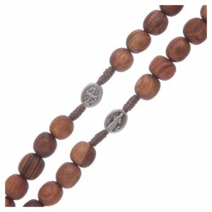 Rosaries and rosary holders: Medjugorje rosary beads with metal crucifix 7mm
