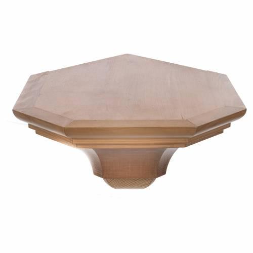 Mensola per angolo legno Valgardena s3