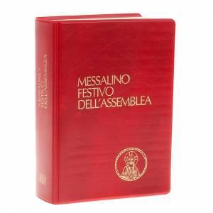 Messale festivo edizione tascabile copertina rossa s1