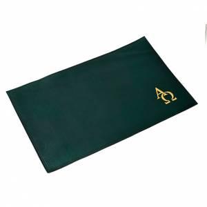 Deckel für Messbücher: Messbuch-Einband aus Leder Alpha und Omega