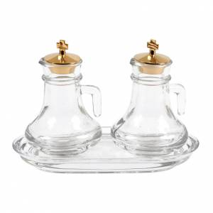 Glas Messkännchengarnitur: Messkännchen aus Glas 100 cl Fassungsvermögen
