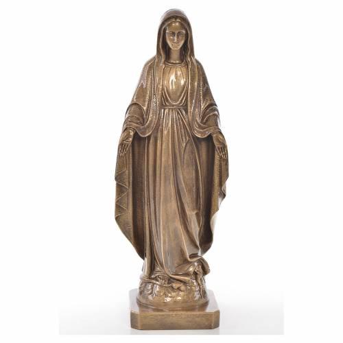 Milagrosa 50cm mármol acabado bronce s1