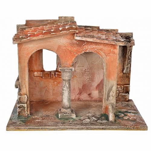 Milieu atelier artisanal crèche Fontanini 12 cm s1