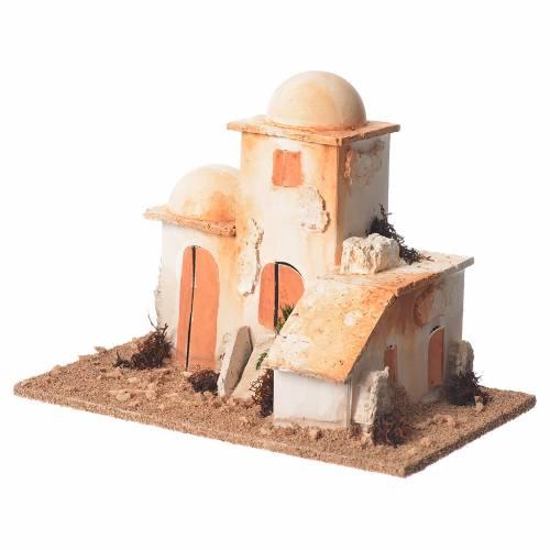 Minaret arabe crèche 15x20x12 cm s2