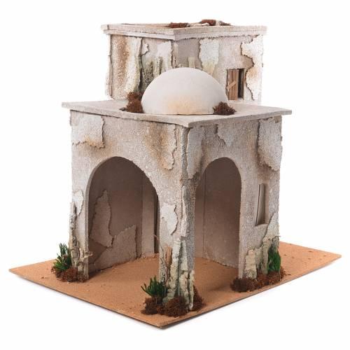 Minareto arabo con capanna 50x45x60 cm s2