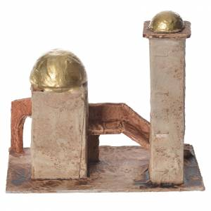 Minareto dorato per presepe 18x19x11 cm s3