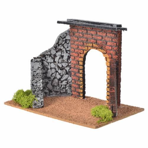 Mini arc crèche de Noel Fontanini 12 cm s2