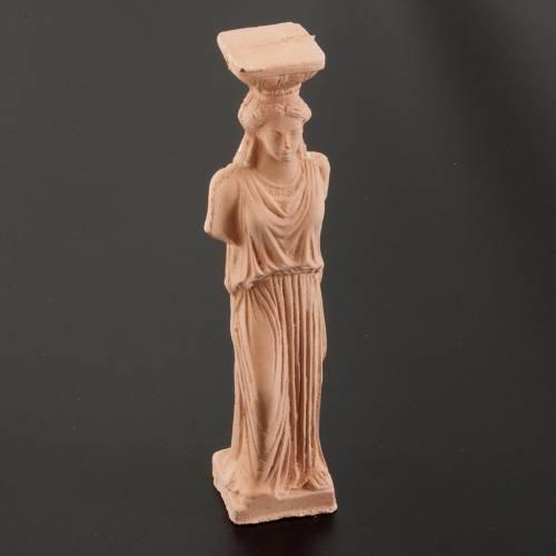 Mini-colonne déesse grecque 14 cm s3
