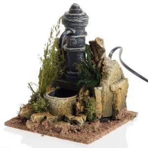 Mini fontaine électrique crèche Noel s1