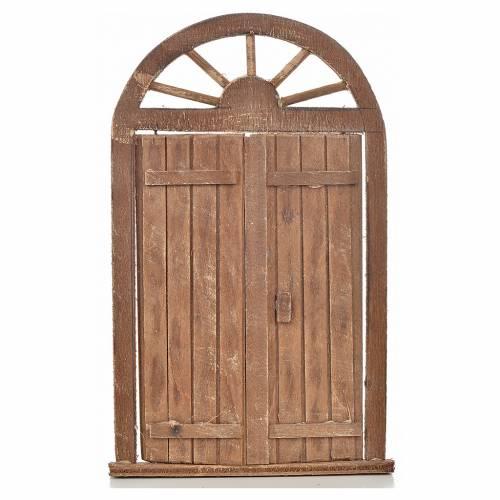 Mini porte crèche Napolitaine 13x21 cm s1