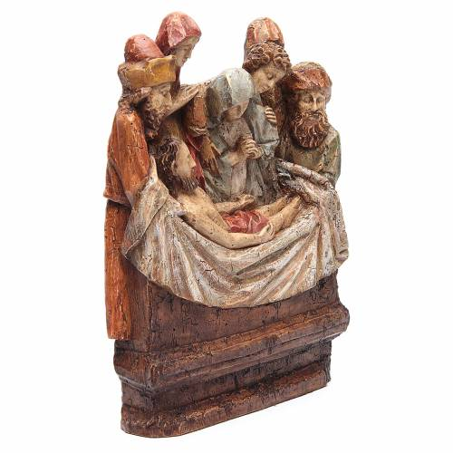 Mise au tombeau 38 cm pierre Bethléem s2