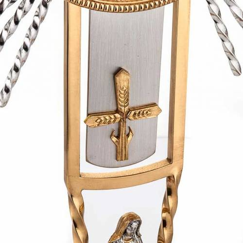 Monstrance, cross and Mary s3