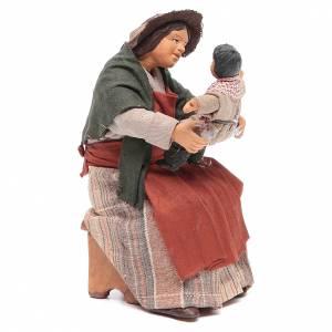 Neapolitan Nativity Scene: Mother with child 14cm Neapolitan Nativity