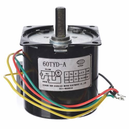 Motoriduttore MPW 40 giri/min presepe s2