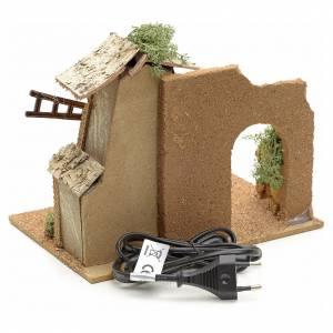 Moulin à vent en miniature pour crèche s4
