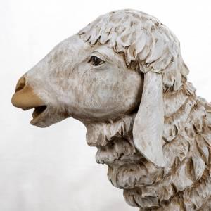 Mouton debout crèche 180 cm résine Fontanini s4