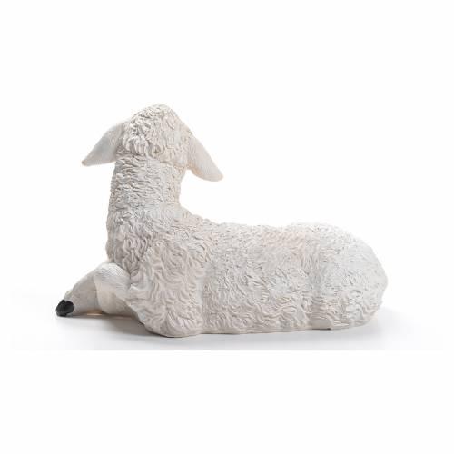 Mouton résine crèche 30/40 cm s3
