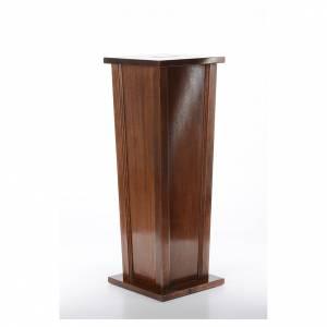 Ambones, reclinatorios, mobiliario religioso: Mueble para ofrendas de madera 96x35x35 cm