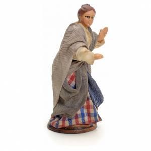 Mujer al balcón cm 8 pesebre napolitano s2