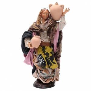 Mujer con jarra 30 cm. pesebre napolitano s1