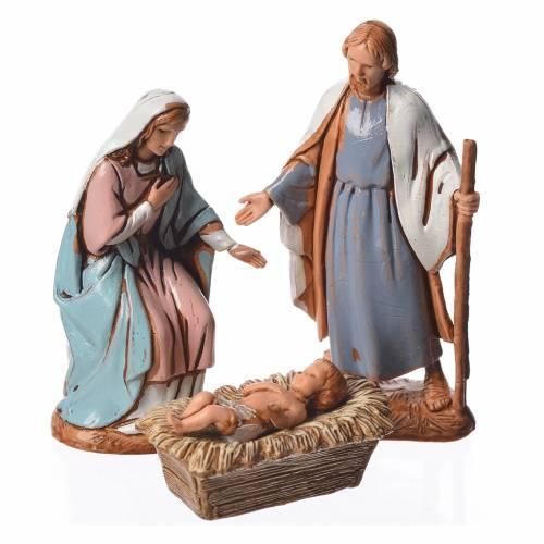 Natividad, 6 pdz, estilo árabe, para belén de Moranduzzo con estatuas de 6,5 cm s2